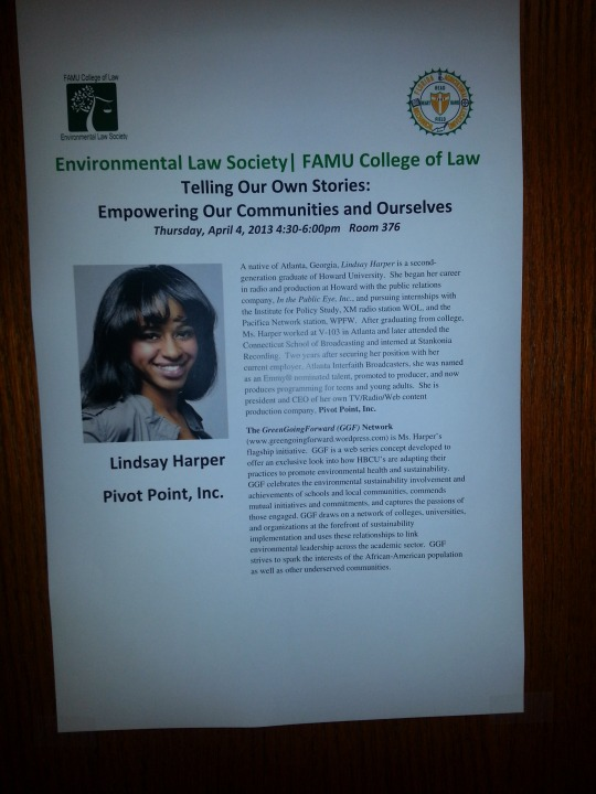 FAMU College of Law PPI poster