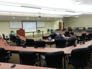 FAMU College of Law presentation room